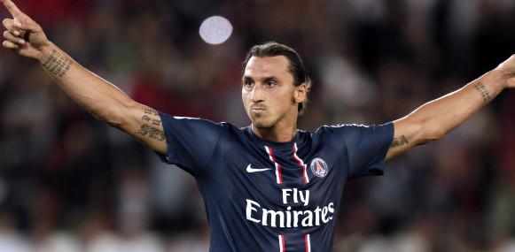 Zlatan Ibrahimovic premiato miglior giocatore della stagione francese.