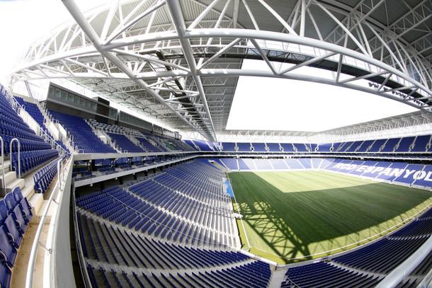 Lo stadio Cornellà-El Prat