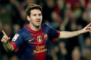 La pulce Lionel Messi non riesce a lasciare il segno in Osasuna-Barcelona