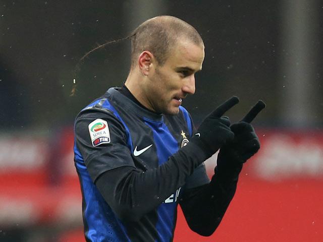 Rodrigo Palacio, attaccante dell'Inter