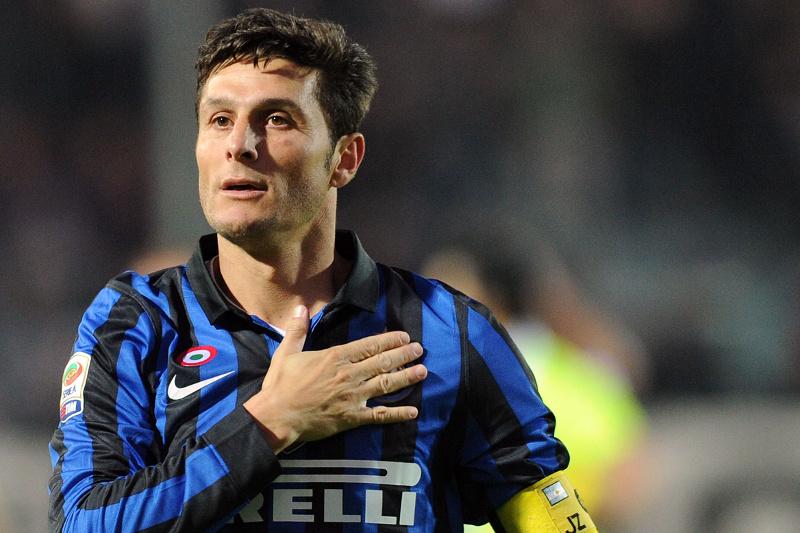 Javier Zanetti saluta l'Inter con l'ultima vittoria.