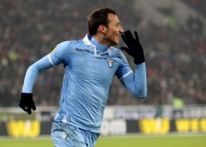 Lazio-Stoccarda 3-1: tripletta di Kozak e gol inutile di Hejnal. L'aquila vola ai quarti di Europa League