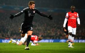Champions, Bayern Monaco-Arsenal: formazioni ufficiali
