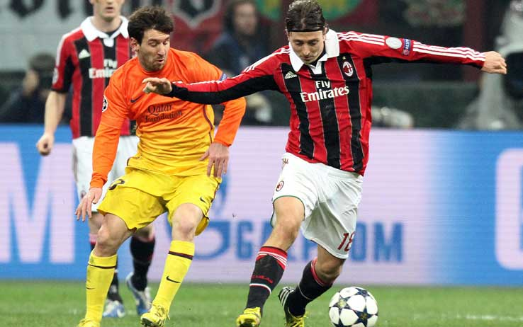 Milan-Barça in Champions League