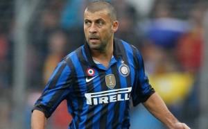 Walter Samuel, migliore in campo dell'Inter