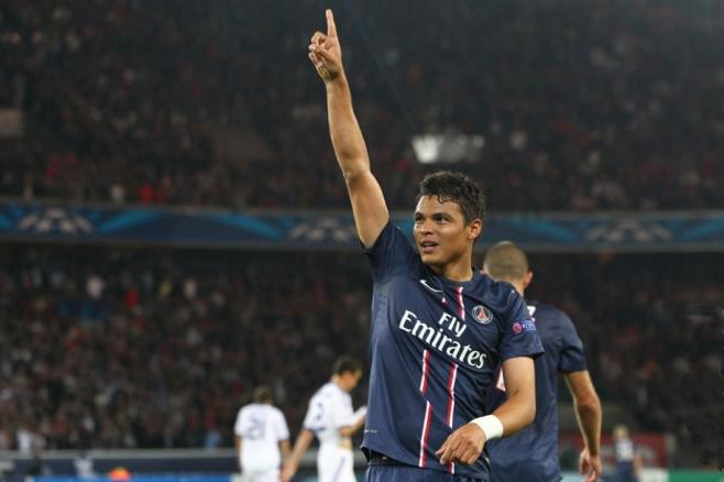 Thiago Silva: capitano del PSG, titolare nella Top 11 della Ligue 1