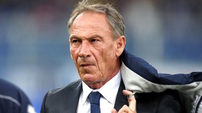 Zdenek Zeman, allenatore del Cagliari
