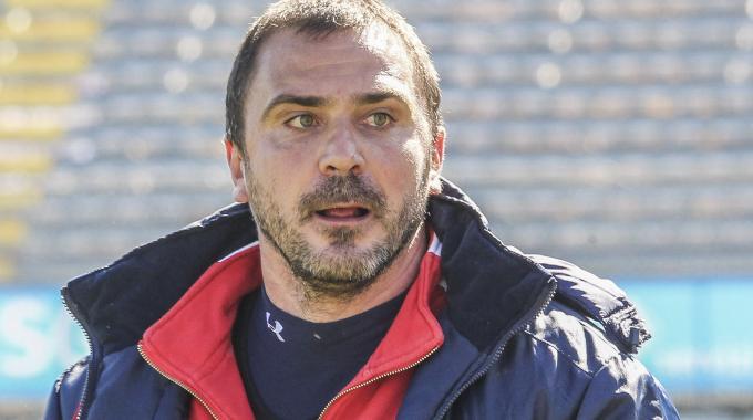 Luca D'Angelo, tecnico dimissionario del Rimini