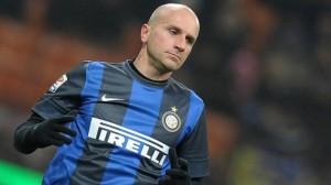 Tommaso Rocchi, chiamato a reggere l'attacco dell'Inter in questo finale di stagione