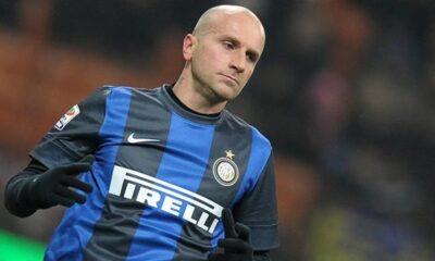 Tommaso Rocchi con la maglia dell'Inter