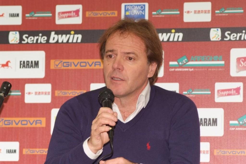 Il tecnico Andrea Agostinelli.