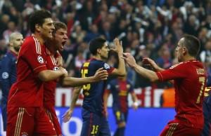 Bayern Monaco Barcellona