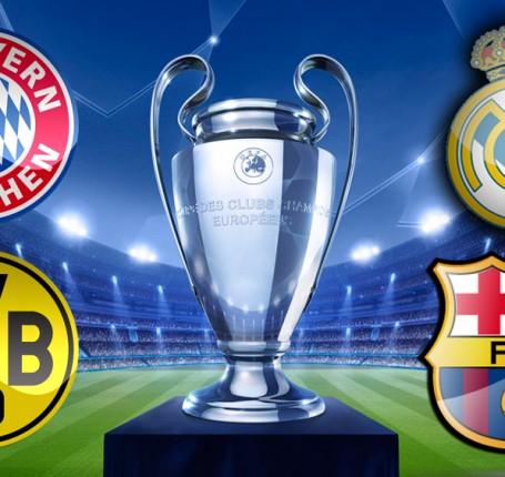 Champions League - le 4 semifinaliste