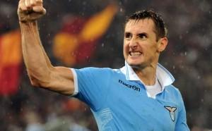 Miroslav Klose, centravanti della Lazio e ottimo nome per la prossima giornata del fantacalcio
