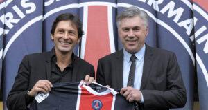 Leonardo e Carlo Ancelotti
