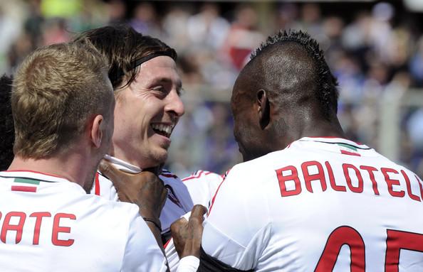 Montolivo e Balotelli, i due pilastri rossoneri