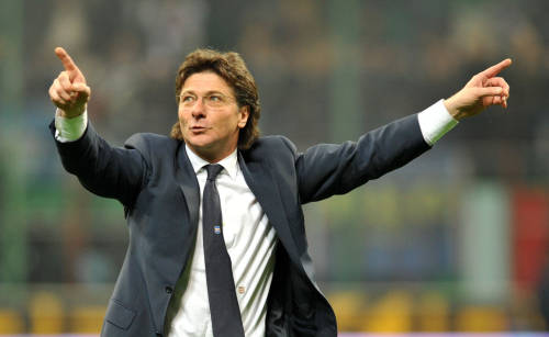 Walter Mazzarri tecnico dell'Inter