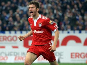 Thomas Muller, attaccante del Bayern Monaco