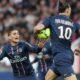 Verratti e Ibrahimovic in maglia PSG.