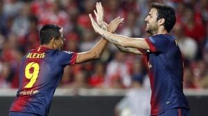 Il Barcellona vola anche senza Messi