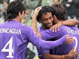 Determinante il goal di Cuadrado nella vittoria della Fiorentina a Livorno.