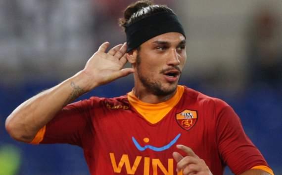 Pablo Osvaldo, attaccante della Roma in partenza