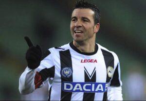 Antonio Di Natale, attaccante dell'Udinese