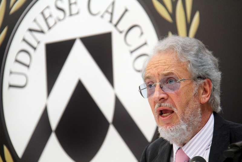 Giampaolo Pozzo, patron dell'Udinese