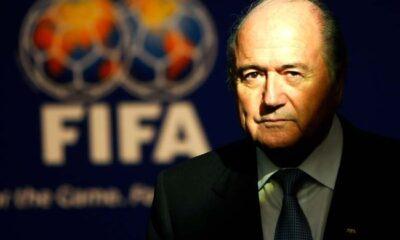 Joseph Blatter, presidente della Fifa dall'8 giugno 1998