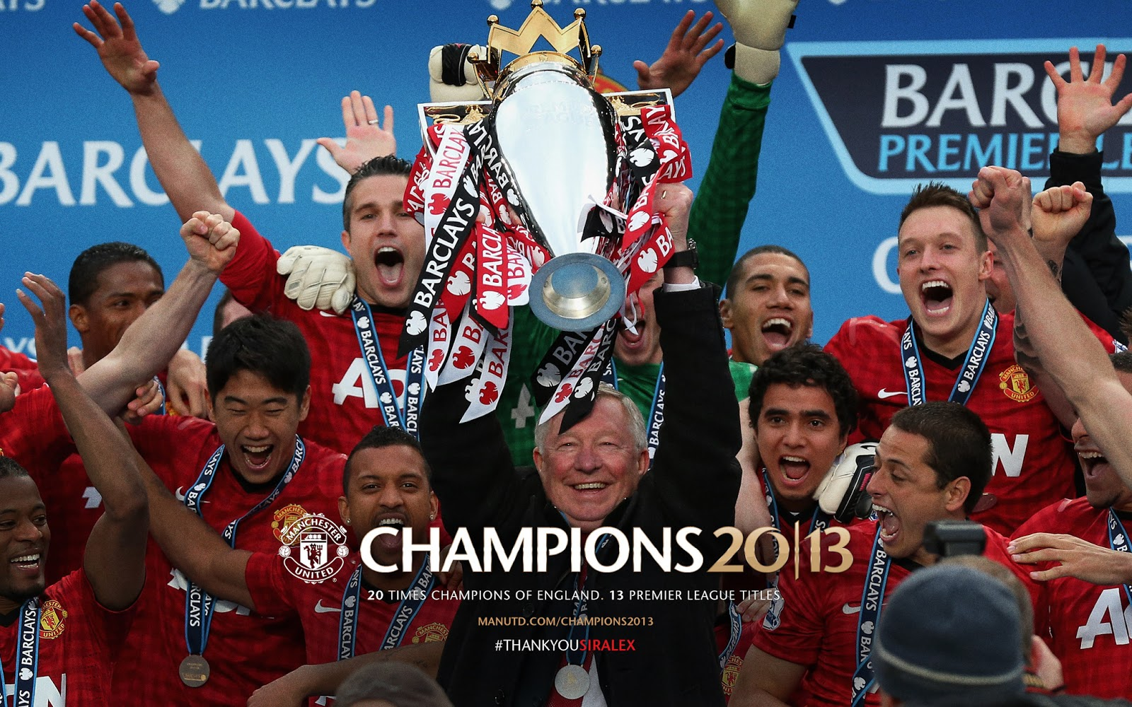 Il Manchester United vince la premier league