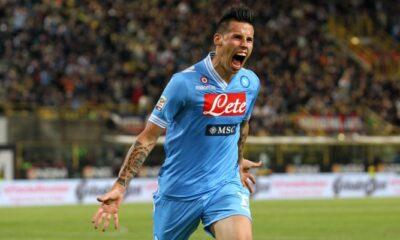 Marek Hamsik con la maglia del Napoli