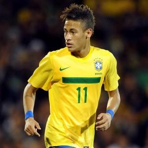 Neymar attaccante del Santos