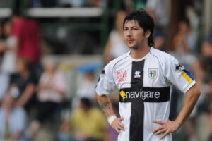 Jaime Valdes, centrocampista del Parma in gol contro il Varese