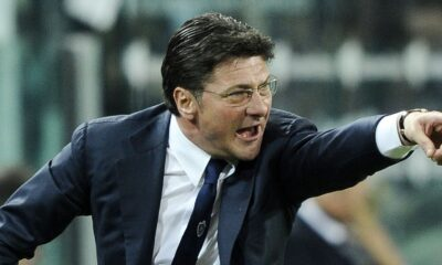 Walter Mazzarri tecnico dell'Inter