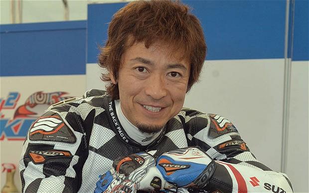Yoshinari Matsushita, il pilota giapponese della Tyco Suzuki morto l'anno scorso durante la sessione di qualifica del Tourist Trophy
