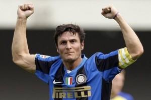 Javier Zanetti capitano dell'Inter