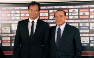 Allegri e Berlusconi
