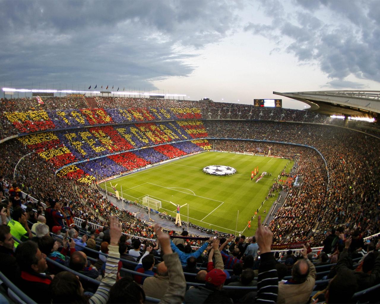 Inni: lo stadio del Barcellona