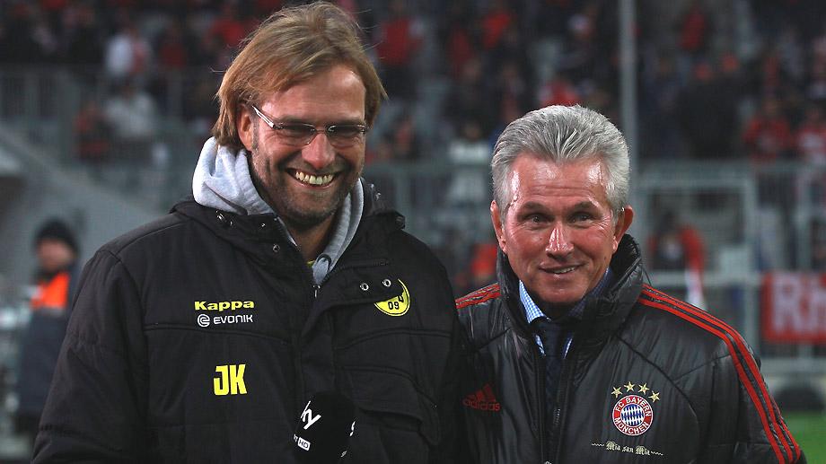 I due allenatori di Dortmund e Bayern