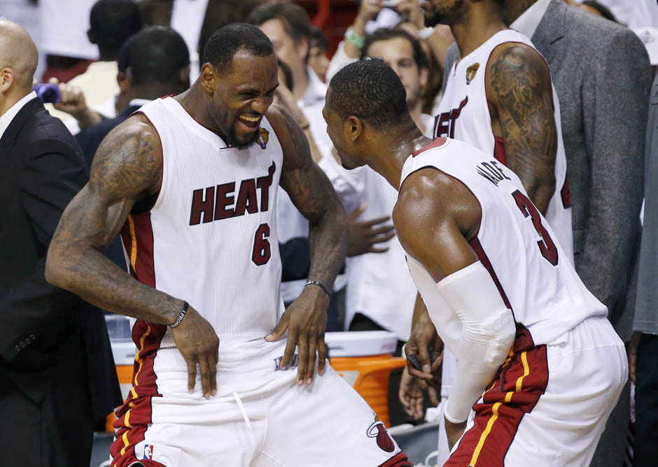 Miami Heat protagonisti nella top 10 plays Nba.