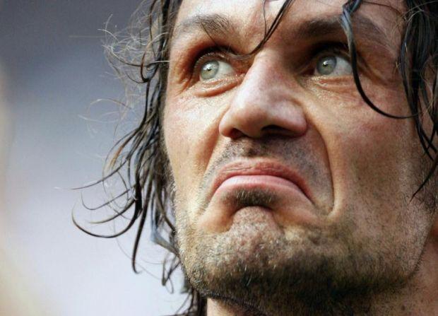 Maldini, ex capitano del Milan