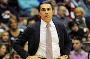 Il coach di Milano Sergio Scariolo