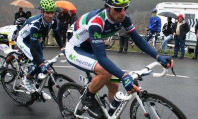 Visconti, con la maglia della Valverde