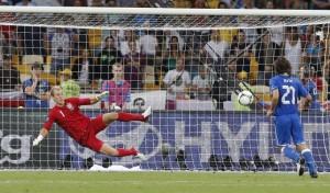Il cucchiaio di Pirlo ad Euro 2012