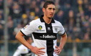 Belfodil con la maglia del Parma. Riuscirà l'Inter a prenderlo?