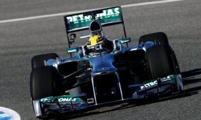 La Mercedes F1 W04
