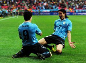 La coppia d'oro dell'uruguay Suarez e Cavani sono le stelle di questa squadra.