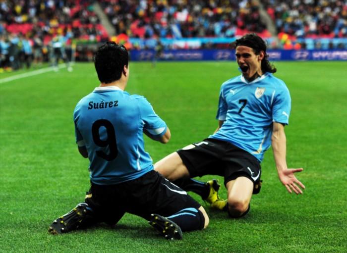 Tabarez confida in Suarez e Cavani per stendere l'Inghilterra