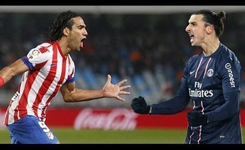 Falcao e Ibrahimovic, simboli della sfida al vertice in Ligue 1 tra Monaco e PSG