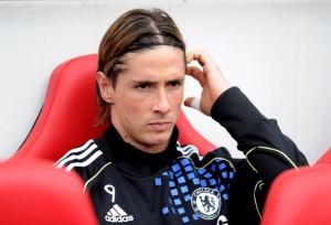 Fernando Torres con la maglia del Chelsea